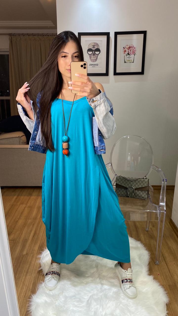 Vestido Mariah saruel boho alcinhas