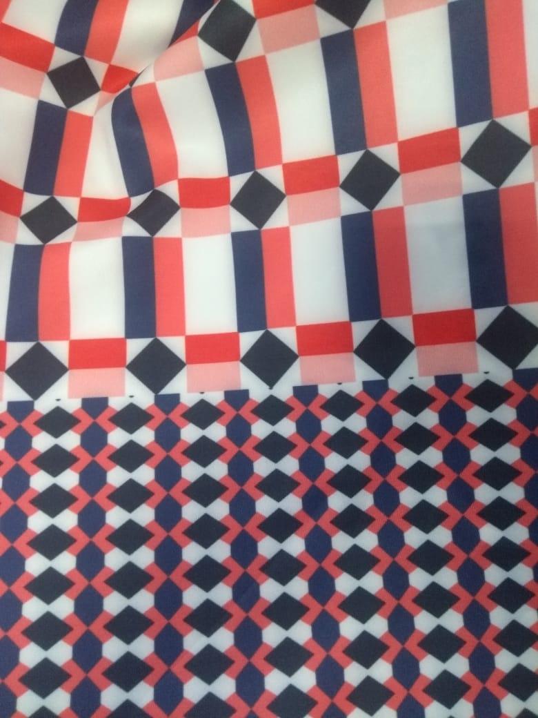 Vestido midi regata moda Plus Size estampa sholder, confeccionado em impressão digital especial que torna a peça única.