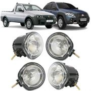 Kit Farol de Milha Neblina Fiat Palio Weekend / Adventure Strada Fire / Adventure - Interruptor Alternativo
