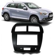 Moldura De Painel 2 Din - Mitsubishi Asx Parking Control PCB Para CD DVD 2 Dins