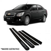 Jogo Friso Lateral Pintado Gm Chevrolet Cobalt 2011 2012 2013 2014 - Cor Original