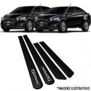 Jogo Friso Lateral Pintado Gm Chevrolet Sonic ( Hatch e Sedan ) 2012 2013 2014 - Cor Original