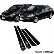 Jogo Friso Lateral Pintado Nissan Tiida ( Hatch e Sedan )