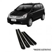 Jogo Friso Lateral Pintado Nissan Livina 2009 2010 2011 2012 2013 - Cor Original