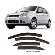 Calha de Chuva Ford Fiesta Hatch / Sedan - 4 Portas 2002 � 2014 - Original + Primer Aderente