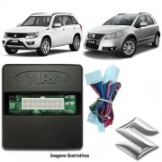 Módulo Original Subida De Vidro Tury Suzuki SX4 e Grand Vitara - Conector Original