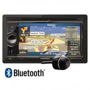 Central Multim�dia Dvd Player Positron Double Din SP8960NAV 6,2� Touchscreen c/ Bluetooth, GPS USB,