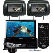 DVD Player Automotivo Retr�til Pioneer AVH-X7780TV Tela 7 Polegadas Com TV Digital Bluetooth Entrada
