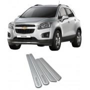 Jogo Friso Lateral Pintado Gm Chevrolet Tracker - Cor Original