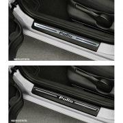 Jogo Soleira Premium Elegance Fiat Palio 2001 2002 2003 2004 2005 2006 2007 2008 2009 2010 2011 - 4
