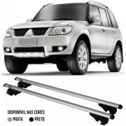 Rack Travessa Mitsubishi TR4 2007 2008 2009 2010 2011 2012 2013 2014 2015 - Kiussi Alumínio Com Chav