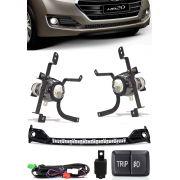 Kit Farol de Milha Neblina Hyundai HB20 2016 2017 Com Interruptor Trip + Molduras