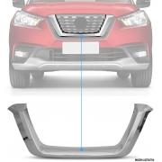 Aplique Cromado Grade Central Frontal Nissan Kicks PCD
