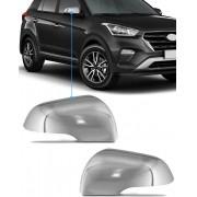 Aplique Cromado Retrovisor Hyundai Creta 2 Peças