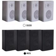 """Caixa Acústica Premier 4"""" Polegadas 50W RMS Ludovico - 4 Peças"""