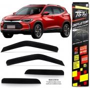 Calha Chuva Defletor TG Poli Chevrolet Nova Tracker 2020 Em Diante - 4 Portas