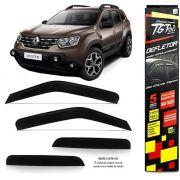 Calha Chuva Defletor TG Poli Renault Duster 2020 - 4 Portas