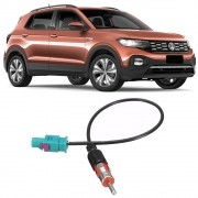 Chicote Plug Adaptador de Antena Vw T-Cross