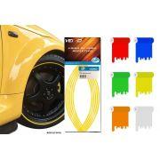 Faixa Refletiva De Roda Para Carro Aro 14 15 16 17 18 19 20 21 22 - 7mm