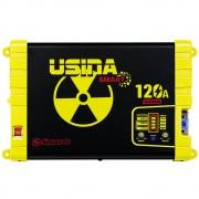 Fonte Carregador Automotiva Usina 120A Plus Battery Meter