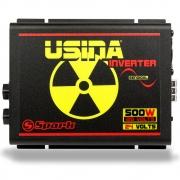 Inversor de Tensão Senoidal Usina Inverter 500W 24 Volts - 120V