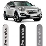 Jogo Friso Lateral Pintado Hyundai Santa Fé - Cor Original