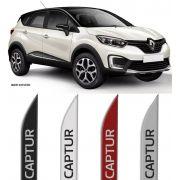 Jogo Friso Lateral Pintado Renault Captur - Cor Original