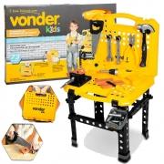 Kit Bancada de Ferramentas de Brinquedo Vonder 73 Peças