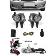 Kit Farol de Milha Neblina Chevrolet Novo Celta 2012 à 2016 + Kit Xenon 6000K / 8000K ou Kit Lâmpada Super LED 6000K