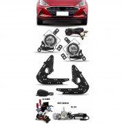 Kit Farol de Milha Neblina Hyundai HB20 HB20S 2020 2021 + Kit Xenon 6000K / 8000K ou Kit Lâmpada Super LED 6000K
