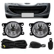 Kit Farol de Milha Neblina Peugeot 207 Hatch - Interruptor Alternativo