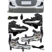 Kit Led DRL Chevrolet Onix Hatch e Sedan Plus 2020