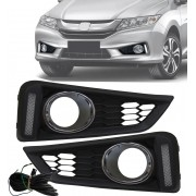 Kit LED DRL Honda Novo City 2014 2015 2016