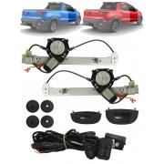 Kit Vidro Elétrico Fiat Nova Strada 2020 2021 2 Portas Dianteiro Sensorizado