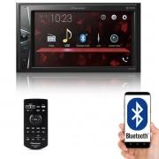 "Multimídia 2 Din Pioneer DMH-G228BT Tela 6,2"" Polegadas Com Bluetooth Entrada USB Entrada Auxiliar e TouchScreen"