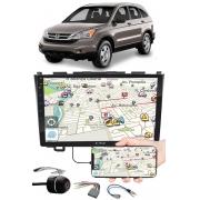 """Multimídia 9"""" Polegadas Honda CRV 2008 à 2011 Espelhamento USB Bluetooth + Moldura Painel + Chicotes + Câmera de Ré"""