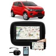 Multimídia Fiat Mobi Espelhamento Bluetooth USB SD Card + Moldura + Câmera Ré