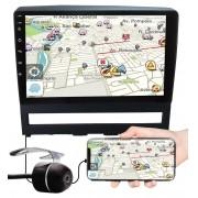 """Multimídia 9"""" Polegadas Fiat Palio Strada Idea Weekend Siena Strada Espelhamento USB Bluetooth + Moldura Painel + Câmera de Ré"""