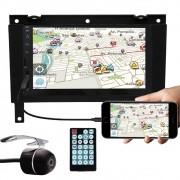 Multimídia Vw Gol Saveiro Parati G3 Espelhamento Bluetooth USB SD Card + Moldura + Câmera Ré