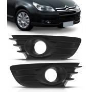 Par Grade Moldura Milha Parachoque Citroen C4 Hatch Pallas VTR