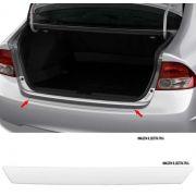Protetor de Porta Malas Incolor Honda Civic 2006 2007 2008 2009 2010 2011 Adesivo