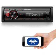 Som Automotivo Media Receiver Pioneer MVH-S218BT Com Bluetooth, Entrada USB, Entrada Auxiliar