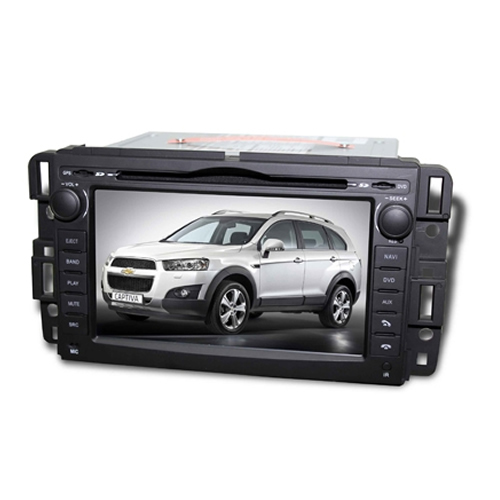 Central Multimídia Chevrolet Captiva 2009 à 2014 Com DVD GPS Mapa Bluetooth MP3 USB Ipod SD Card Câmera Ré Grátis - Winca