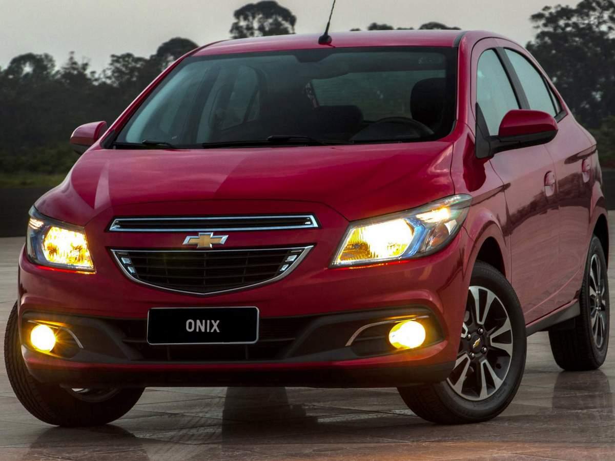 Kit Farol de Milha Neblina Chevrolet Novo Prisma / Onix LT / LTZ 2013 á 2015  Interruptor Mod. Original + Friso Cromo