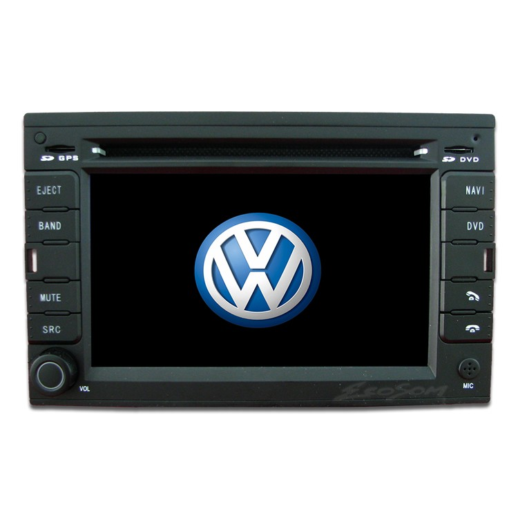 Central Multimidia Vw Golf Polo 2000 á 2013 Fox 2011 á 2013 Com DVD GPS Mapa Bluetooth MP3 USB Ipod SD Card Câmera Ré Grátis -Winca