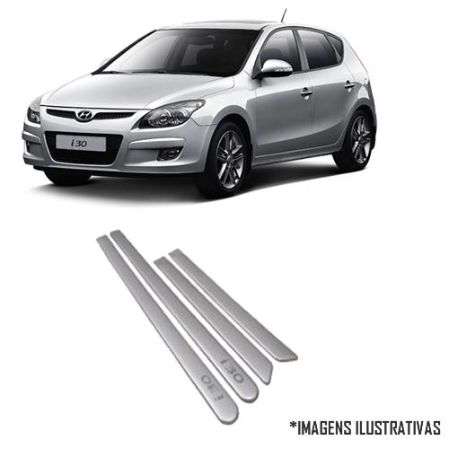 Jogo Friso Lateral Pintado Hyundai i30 ( até 2012 ) - Cor Original