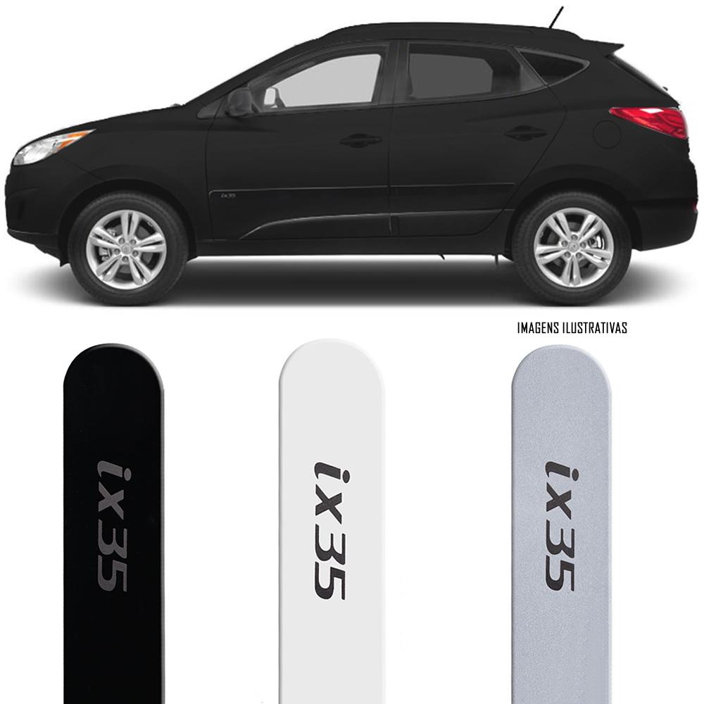 Jogo Friso Lateral Pintado Hyundai IX35 2010 2011 2012 2013 2014 2015 2016 2017 - Cor Original