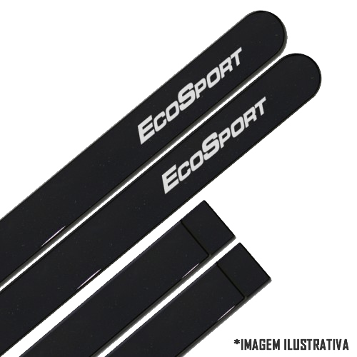 Jogo Friso Lateral Pintado Ford Ecosport 2013 2014 - Cor Original
