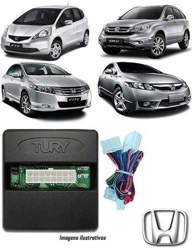 Módulo Original Subida De Vidro Tury Honda New Civic Até 2011 / City e Fit Até 2013 / CRV Até 2011 - Conector Original