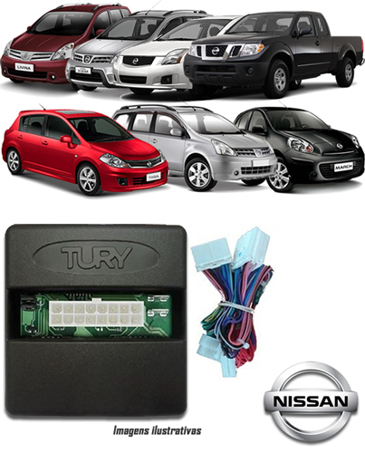 Módulo Original Subida De Vidro Tury Nissan Frontier Sentra Tiida X-Gear Grand Livina March Livina - Conector Original